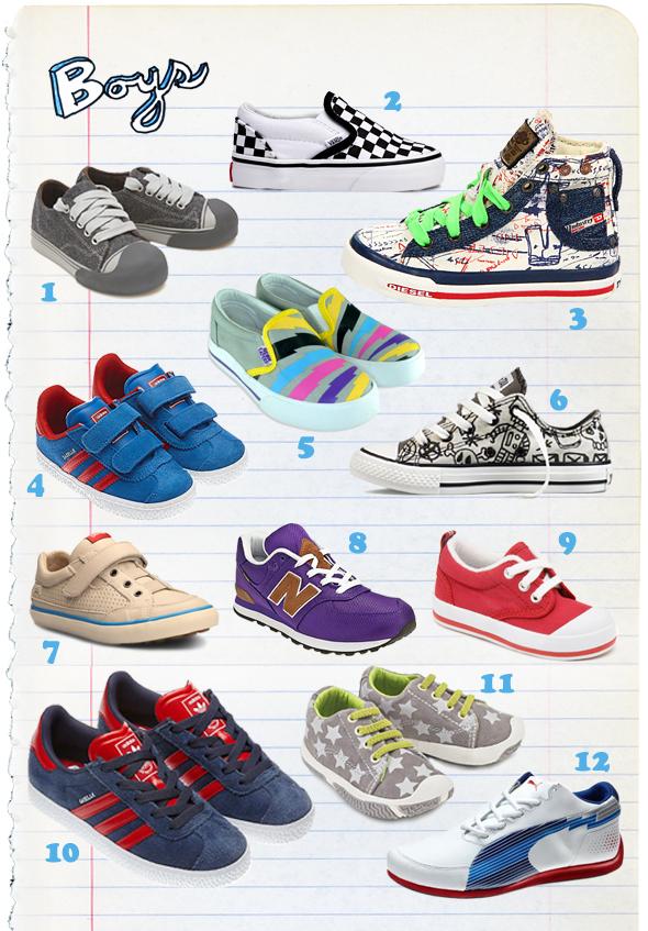 Kids Diesel Sneakers | Super Goody Bag