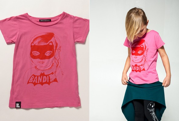MINI AND MAXIMUS - Bandit Tee