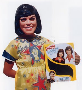 Marie Osmond Mask Costume
