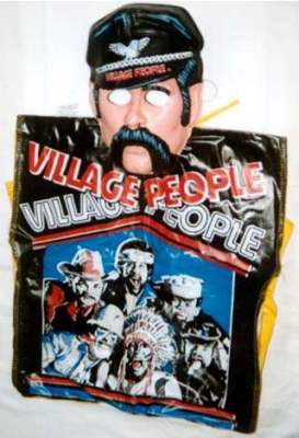 The Village People Costume and Mask